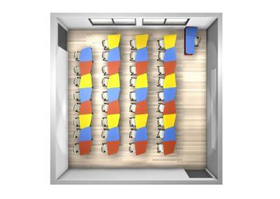 tables modulables pour espace dynamique