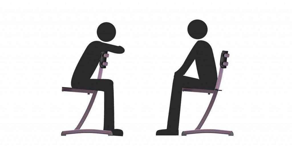 Chaise scolaire multi position