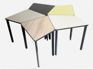 table professionnelle modulable