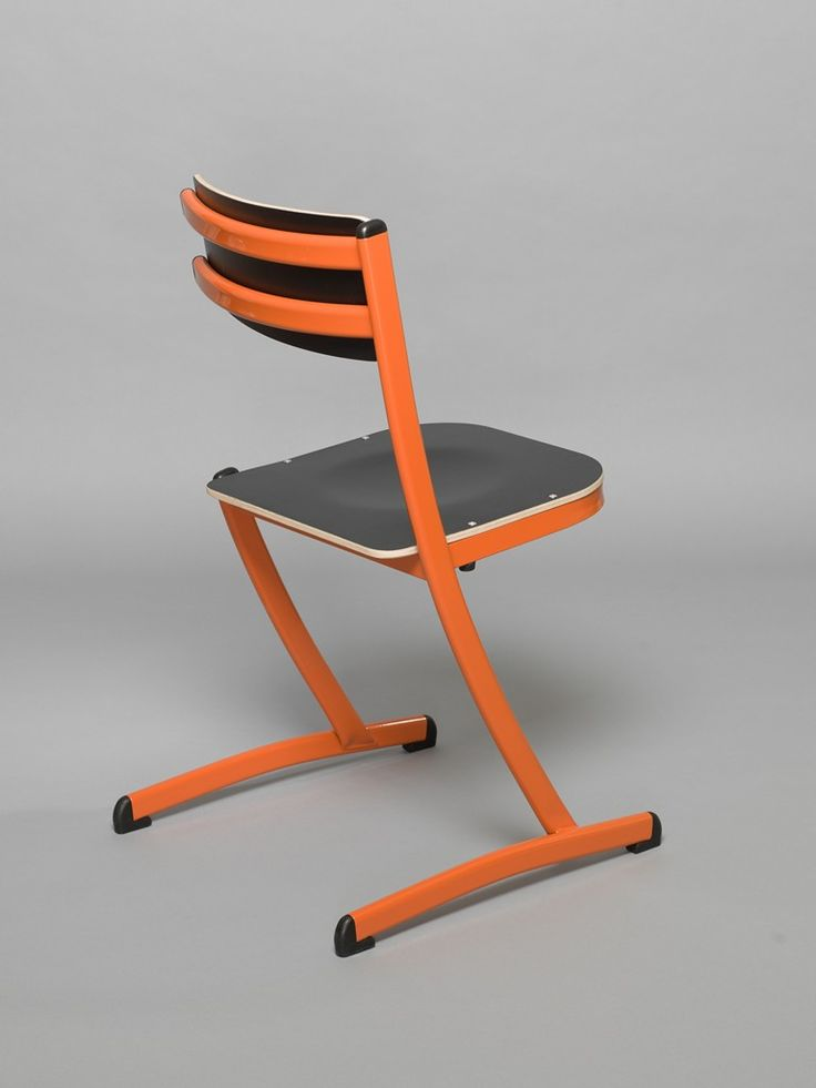 school chair with a triple function
