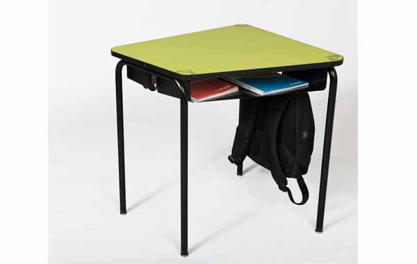 Our modular table with a compartment, pratical and design