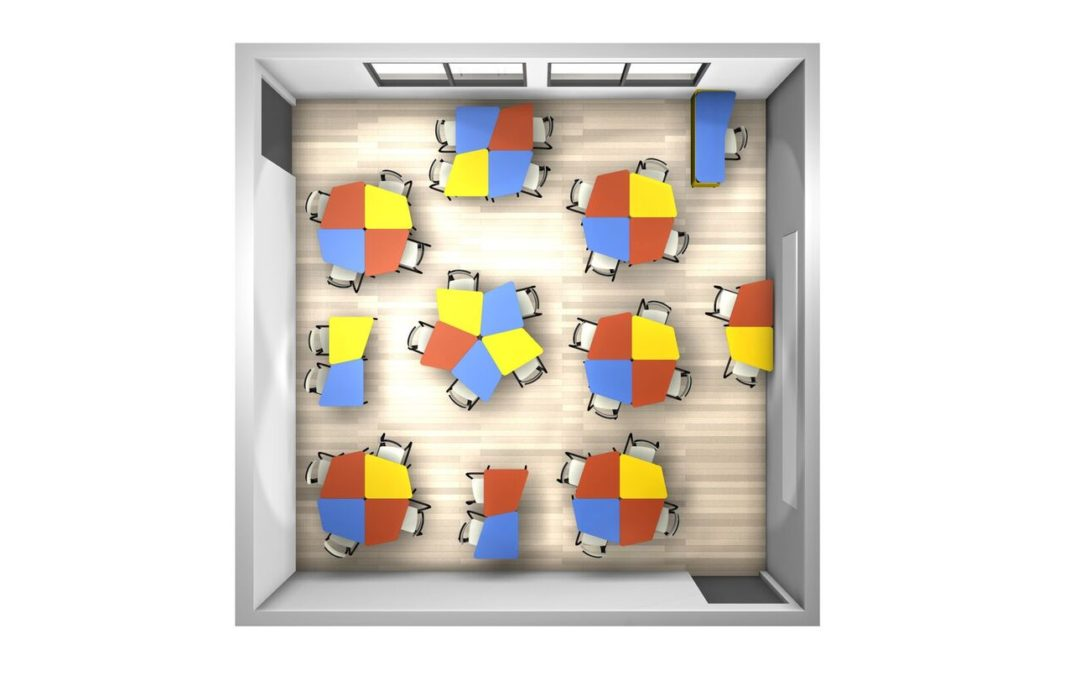 Integration von modularen Möbeln in Bildungseinrichtungen