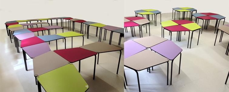 Choisir des mobiliers modulables pour créer un espace d'apprentissage flexible