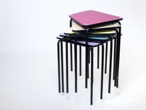 Mobilier scolaire modulable